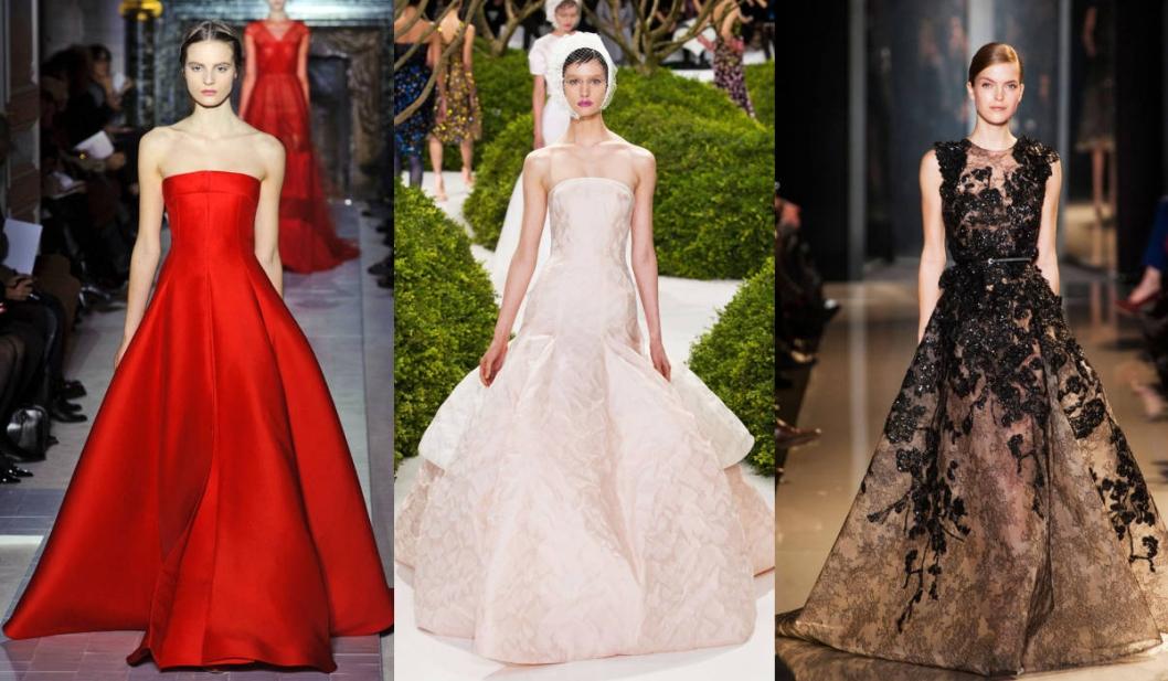 Valentino, Christian Dior, & Elie Saab.