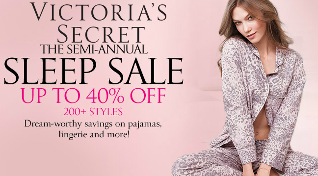 Victoria's Secret sleep sale