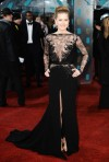 Amy Adams in a black lace Elie Saab Couture gown