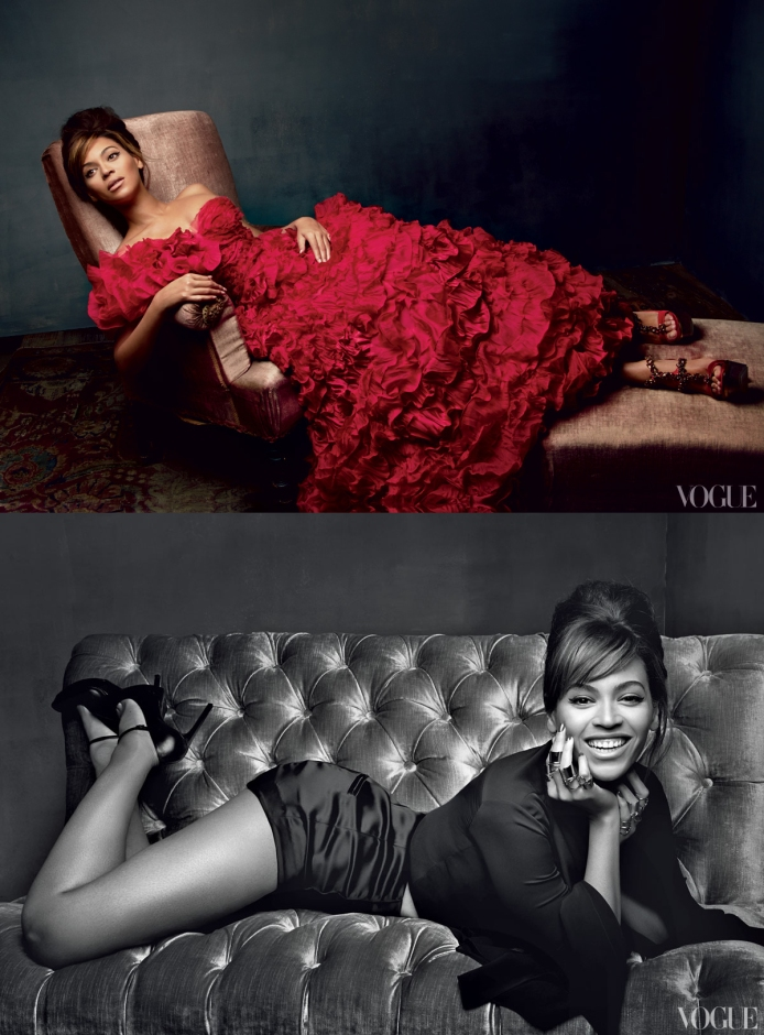 Beyonce for Vogue March 2013