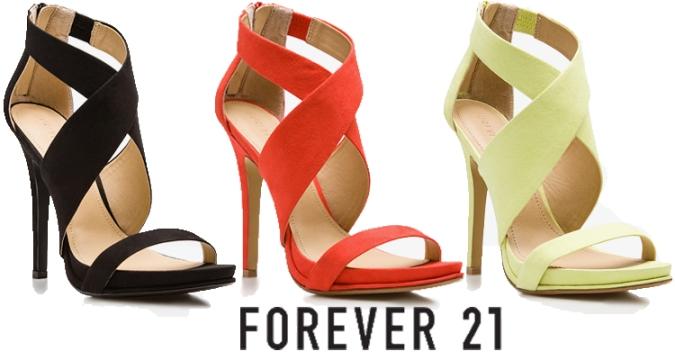 Forever 21 - Crisscross Stiletto Sandal $29.80