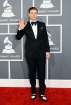 Justin Timberlake in a black tuxedo by Tom Ford