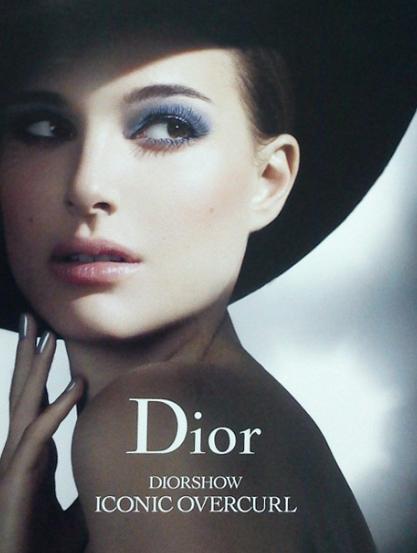 Natalie Portman in Dior Diorshow Iconic Overcurl Mascara