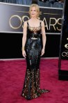 Nicole Kidman in a sequined metallic L'Wren Scott gown