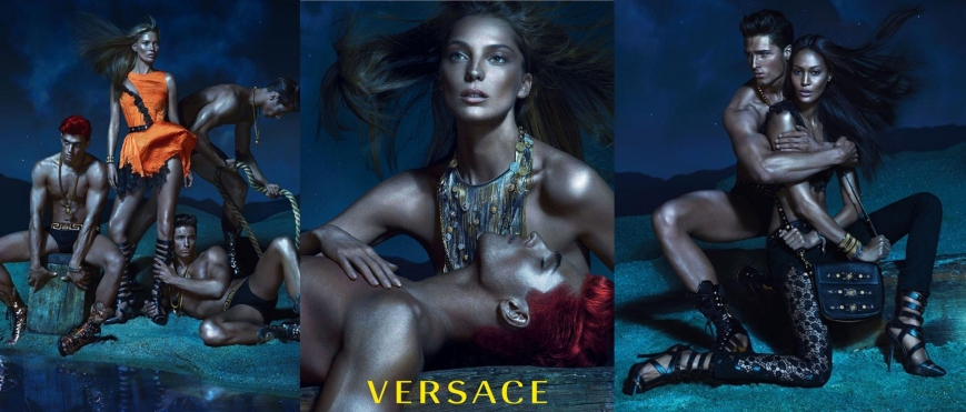 Versace Spring Summer 2013 ad campaign