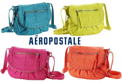 Aeropostale - neon crossbody bag $14.00