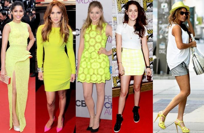 Freida Pinto, Jennifer Lopez, CHloe Moretz, Kristen Stewart, & Beyonce Knowles.