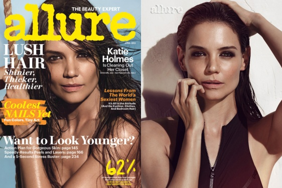 Katie Holmes for Allure