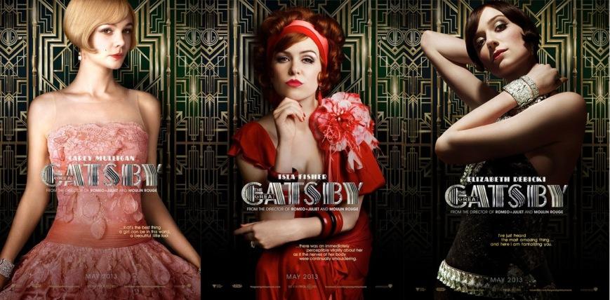 Carey Mulligan, Isla Fisher, & Elizabeth Debicki in The Great Gatsby.