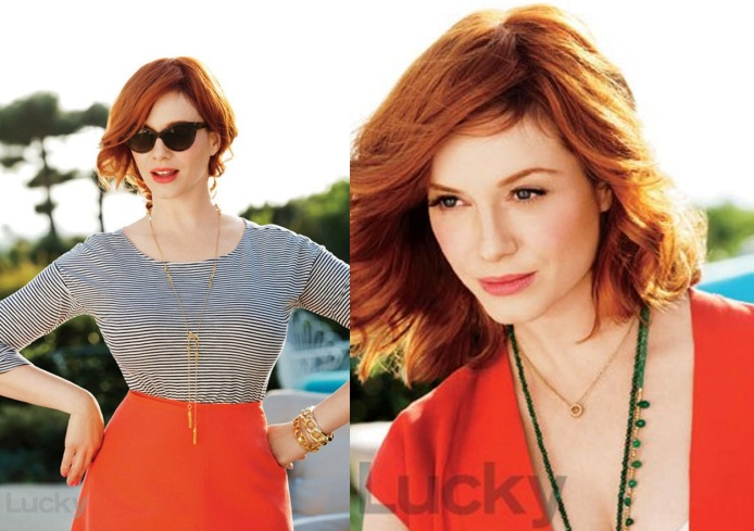 Christina Hendricks for Lucky June 2013 02