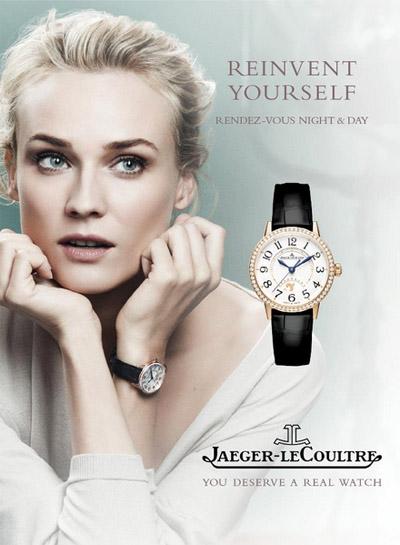 Diane Kruger for Jaeger-LeCoultre