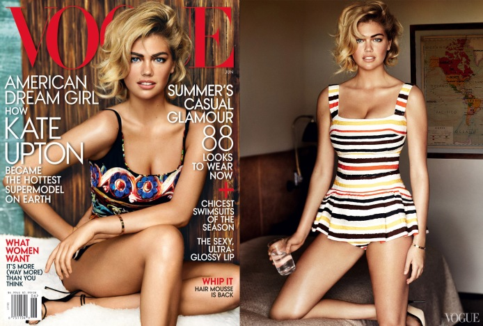 Kate Upton for Vogue June 2013 01