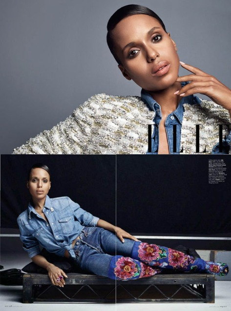 Kerry Washington For ELLE June 2013 05