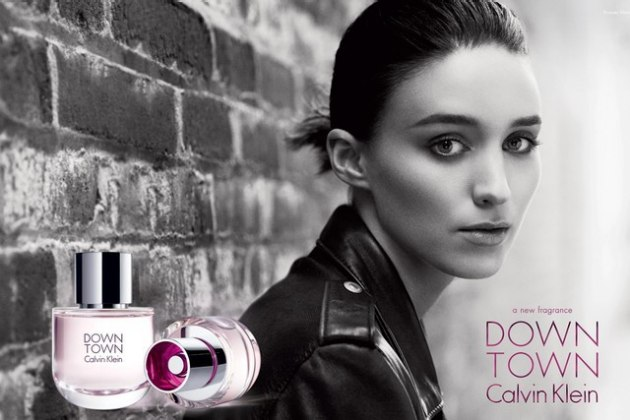 Rooney Mara for Calvin Klein's Downtown fragrance