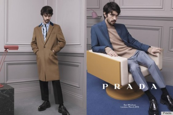 Ben Whishaw for Prada Fall 2013