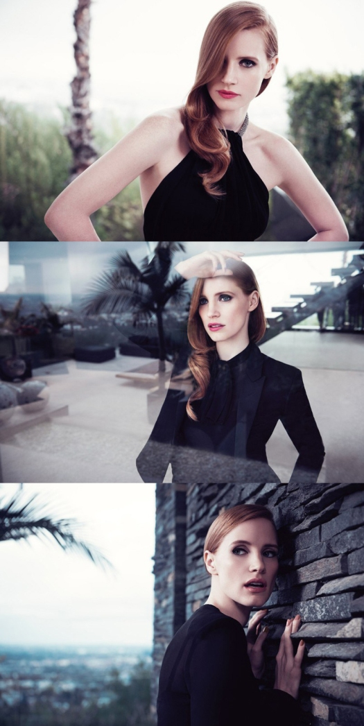 Jessica Chastain for Yves Saint Laurent Manifesto 02