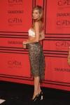 Jessica Hart in a cut-out Rachel Roy dress