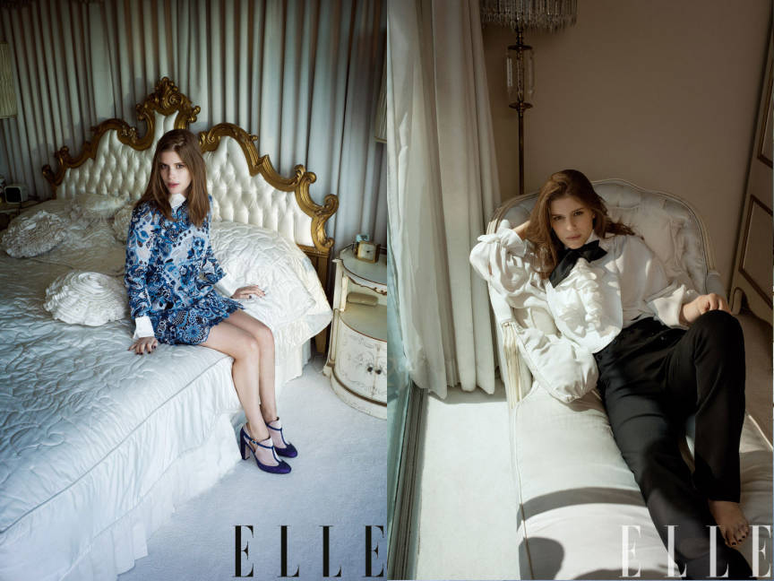 Kate Mara for Elle July 2013 01