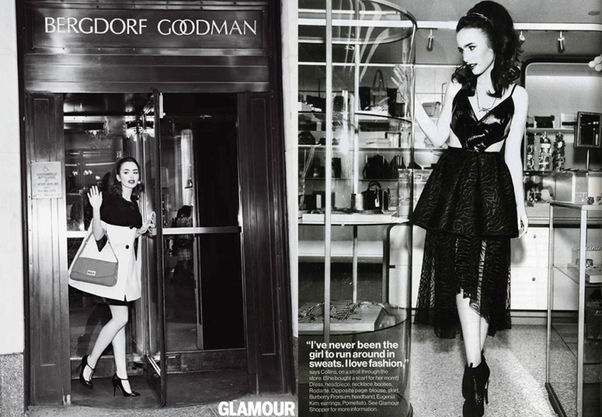 Lily Collins for Glamour July 2013 04