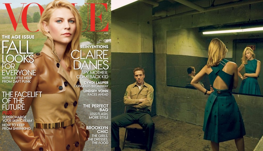 Claire Danes for Vogue August 2013