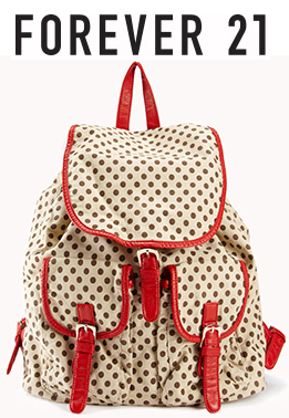 Forever 21 - Polka Dot Backpack $32