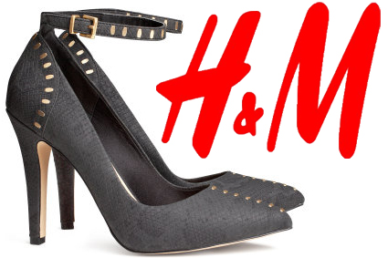 H&M - Ankle Strap Pumps $29