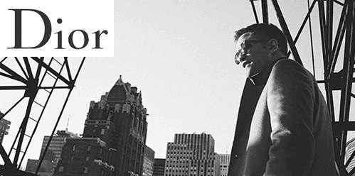 Robert Pattinson for Dior's Dior Homme