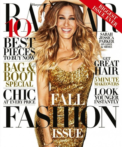 Sarah Jessica Parker for Harper's Bazaar September 2013