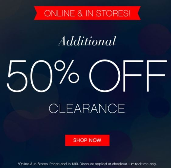 Arden B - Additional 50% off clearance.