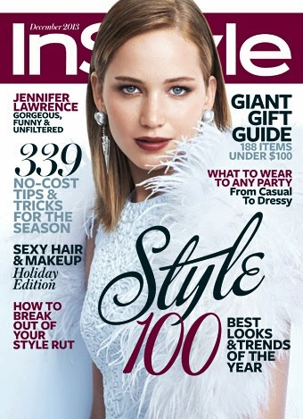 Jennifer Lawrence for In Style December 2013