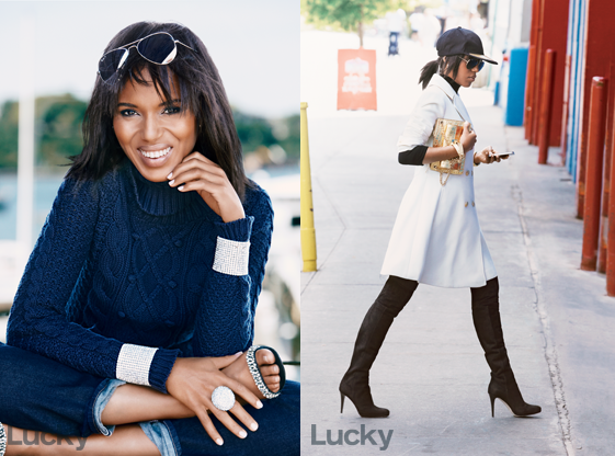 Kerry Washington for Lucky December 2013 01