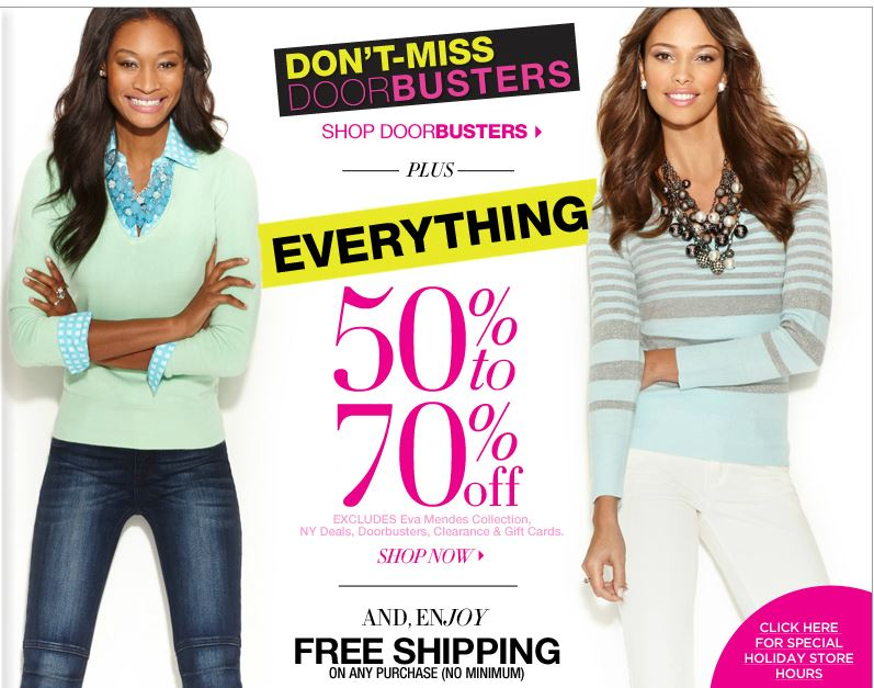 New York & Company - 50-70% off Everything