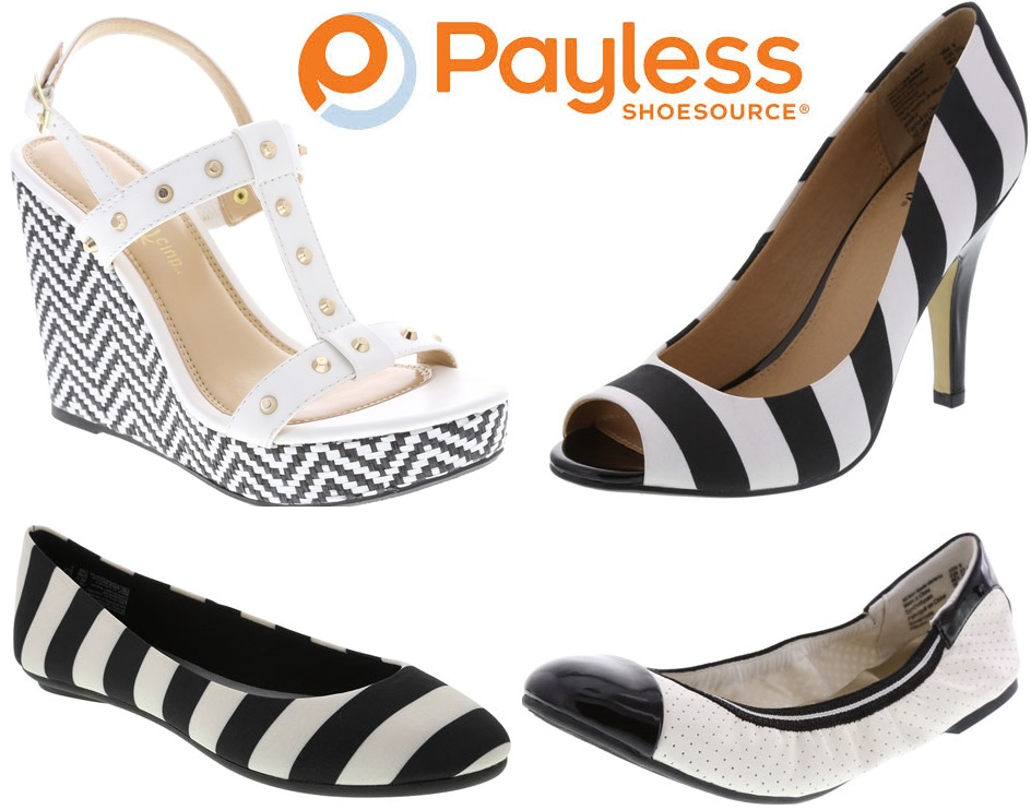 Payless Shoes White Flats