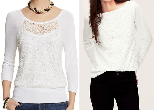 lace sweatshirts