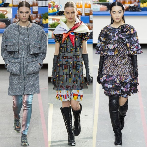 Chanel Fall / Winter 2014 - 15  REady To Wear Collection at Paris Fashion Week