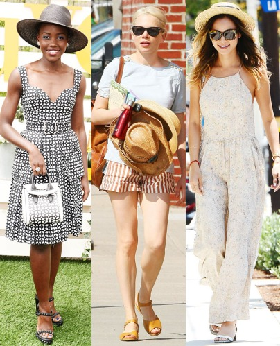 Lupita Nyong'o, Michelle Williams, & Jamie Chung.