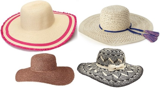 Floppy hats - Kohl's, Forever 21, Old Navy, & Dillards