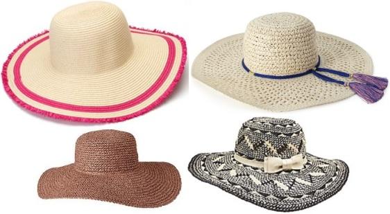 Floppy hats - Kohl's, Forever 21, Old Navy, & Dillards