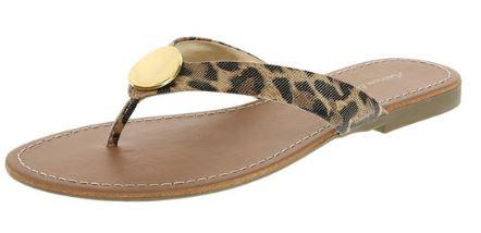 Leopard flip flop @Payless, $9.99
