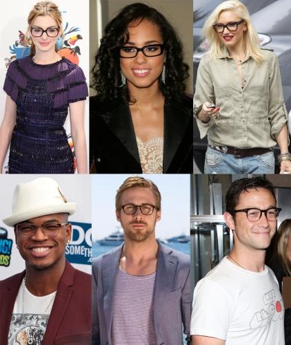Anne Hathaway, Alicia Keys, Gwen Stefani, Neyo, Ryan Gosling, & Joseph Gordon Levitt.