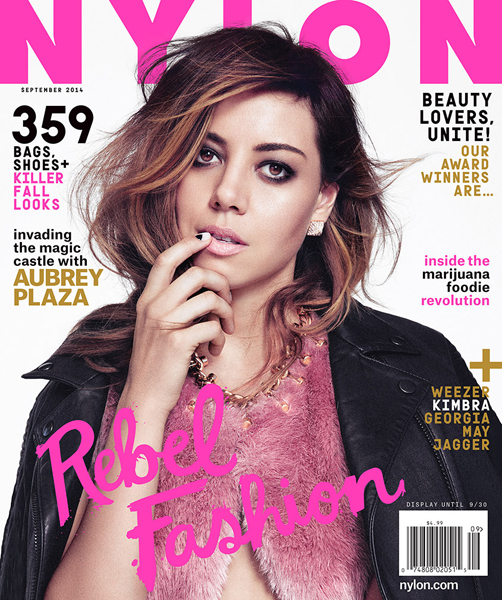 Aubrey Plaza for Nylon September 2014