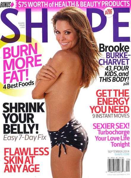 Brooke Burke-Charvet for Shape September 2014
