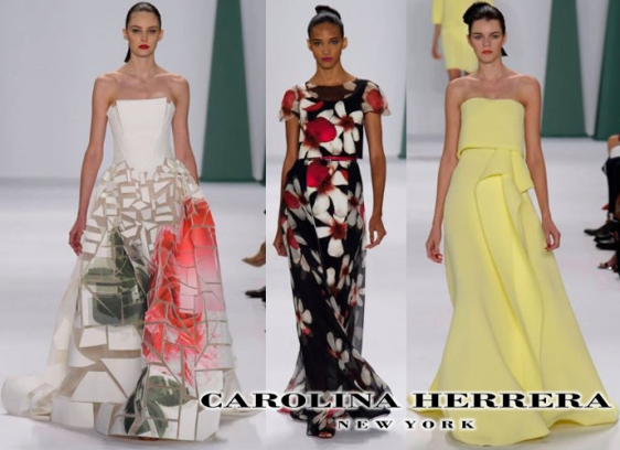 Carolina Herrera Spring Summer Ready-To-Wear 2015 Fashion Week Collection