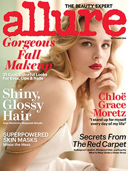 Chloe Grace Moretz for Allure September 2014.