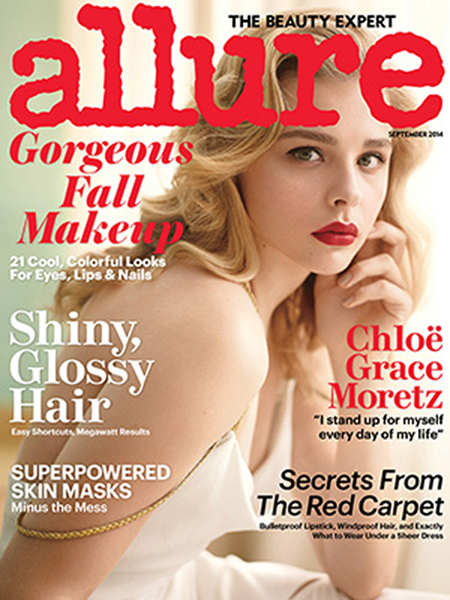 Chloe Grace Moretz for Allure September 2014.