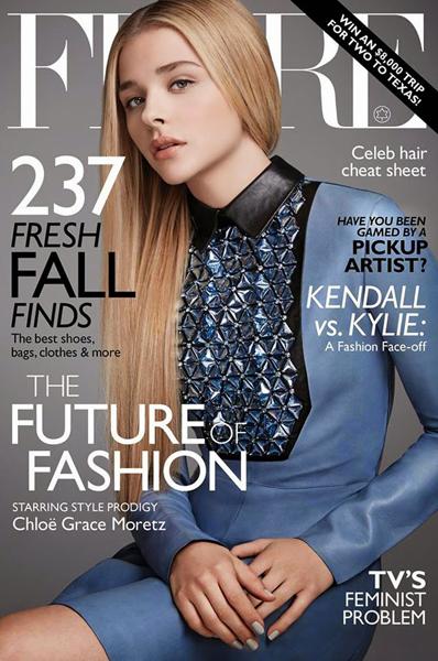 Chloe Grace Moretz for Flare September 2014