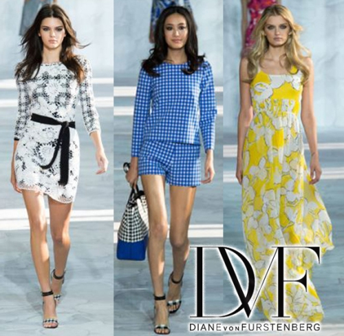 Diane Von Furstenberg Spring Summer Ready-To-Wear 2015 Collection New York Fashion Week