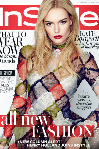 Kate Bosworth for InStyle UK September 2014