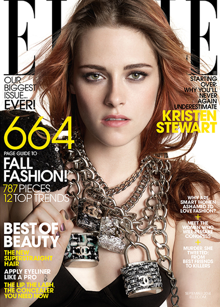 Kristen Stewart for Elle September 2014