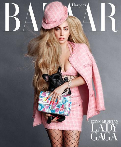 Lady Gaga for Harper's Bazaar September 2014